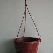 Горшок с подвесом 25 коричневый